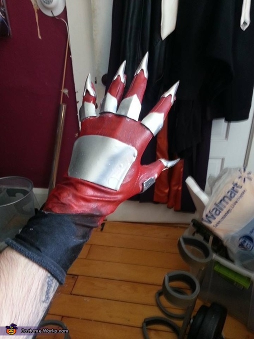 Gloves, Lord Zedd Costume