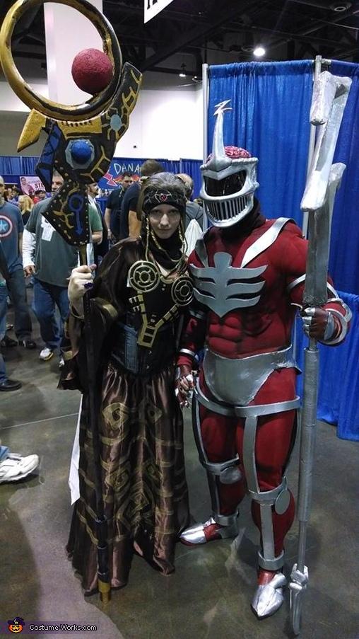 Zedd & Rita, Lord Zedd Costume