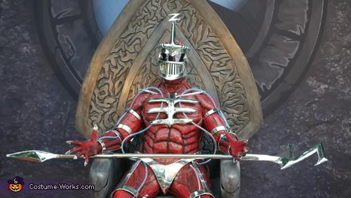 Lord Zedd Homemade Costume