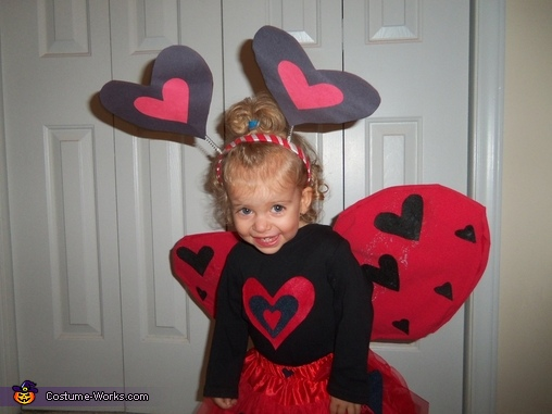 Top, Love Bug Baby Costume