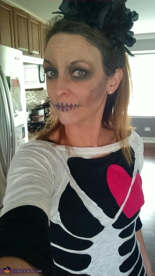 Lovely Skeleton Costume
