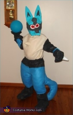 Lucario Pokemon Costume