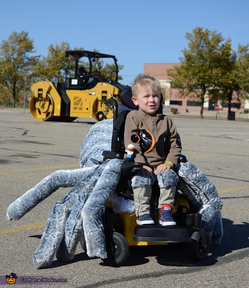 Lucas the Spider Costume