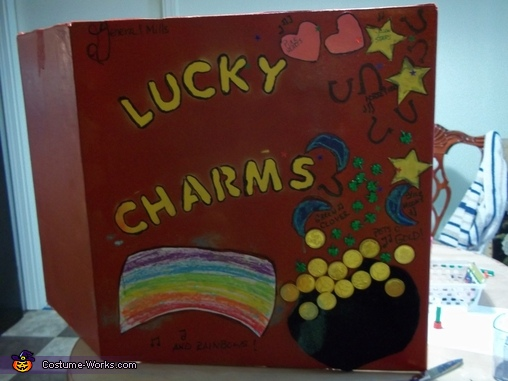 front view, Lucky Charms Costume