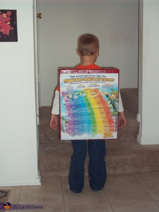 Lucky Charms - Back, Lucky Charms Costume