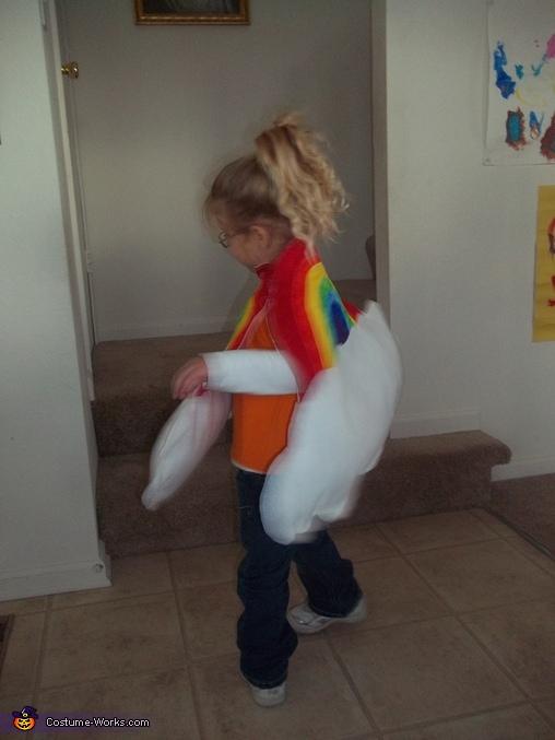 Rainbow  - back, Lucky Charms Costume
