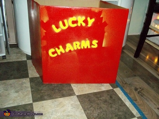 getting started, Lucky Charms Costume