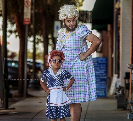 Lucy and Ethel Costume