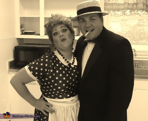 Lucy And Ricky Couple Costume