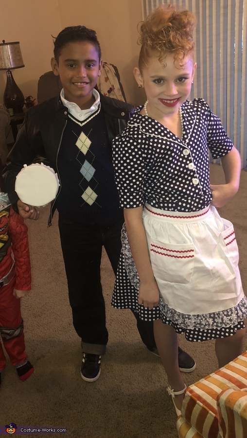 Lucy and Ricky Ricardo Costume
