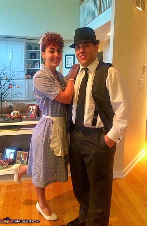 Lucy & Ricky Ricardo Costume