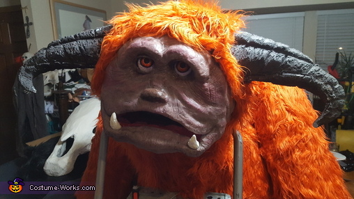 Ludo from the Labyrinth Homemade Costume