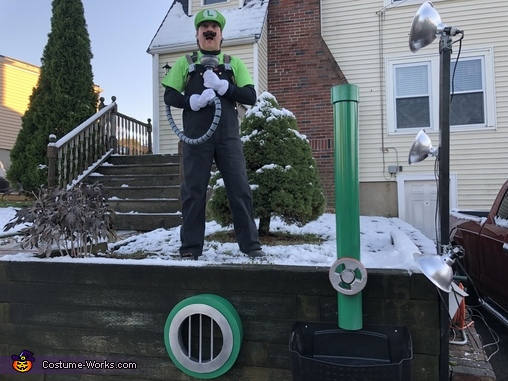 Trick 'r Treat Setup, Luigi's Mansion 3 Costume