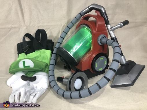 Costume Parts, Luigi's Mansion 3 Costume