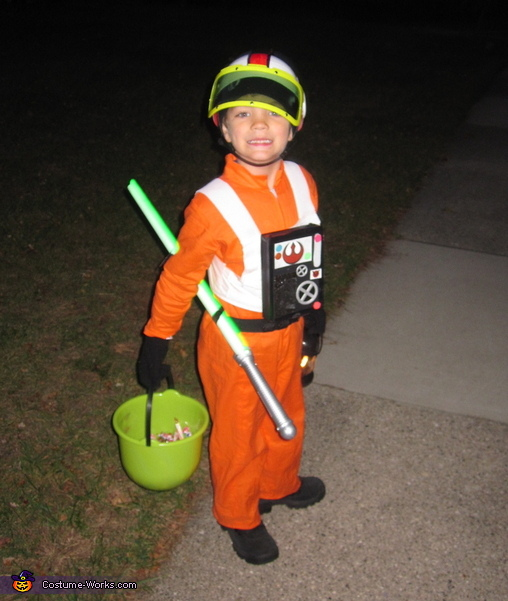 Luke Skywalker X-Wing Pilot - Homemade costumes for boys