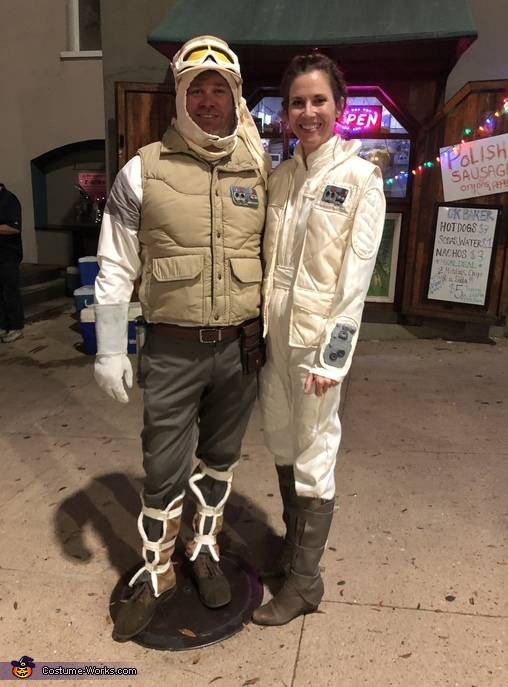 Luke and Leia Costume
