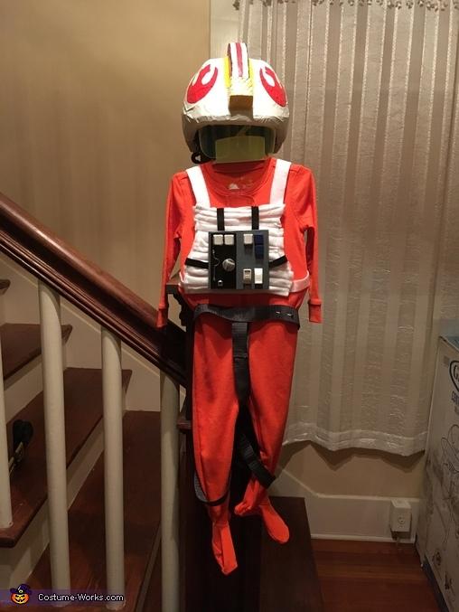 Final Luke Skywalker flight suit completed, Luke Skywalker and AT-AT Costume