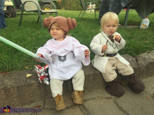 Luke Skywalker and Princess Leia Organa Costume