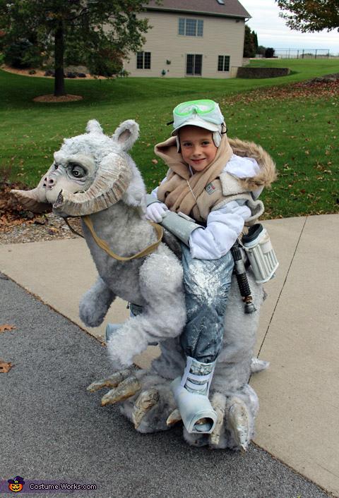 Luke Skywalker on Tauntaun Costume
