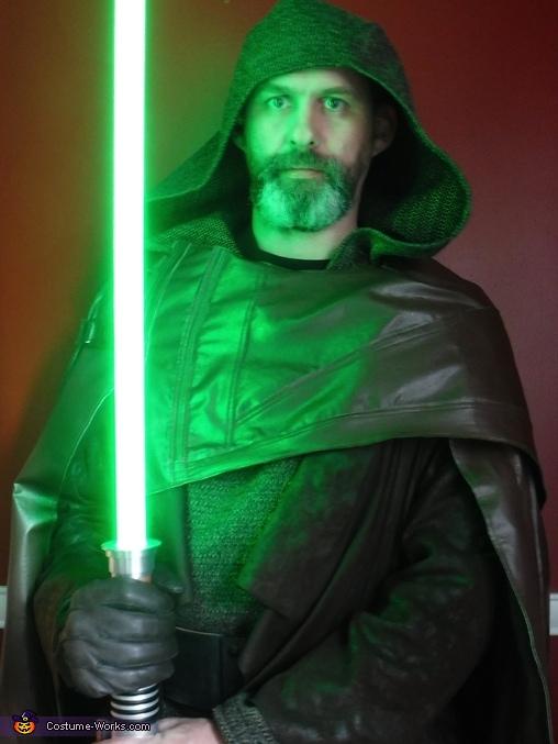 Luke Skywalker - The Last Jedi and Mara Jade Homemade Costume