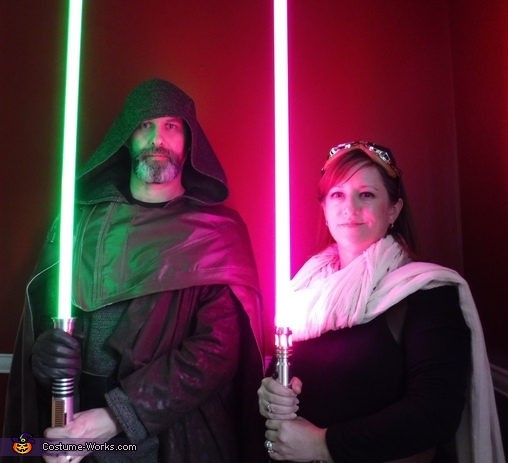 Luke Skywalker - The Last Jedi and Mara Jade Costume