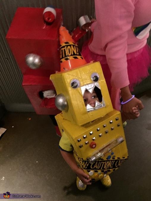 Lulubot 2000 Robot Costume