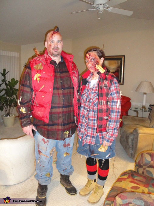 Lumber Jack and Jill  - Homemade costumes for couples