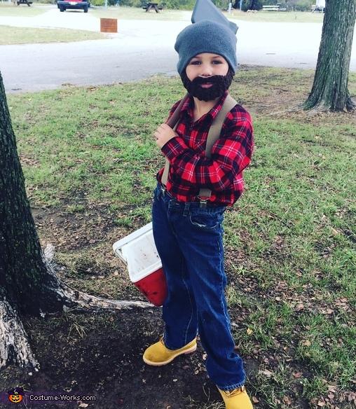 Lumberjack. Costume