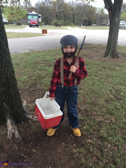 Lumberjack. Homemade Costume