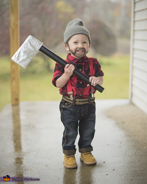 Lumberjack baby boy costume for 9 year old boy halloween costume ideas