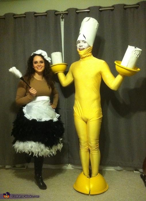 Lumiere and Babette Couple's Costume