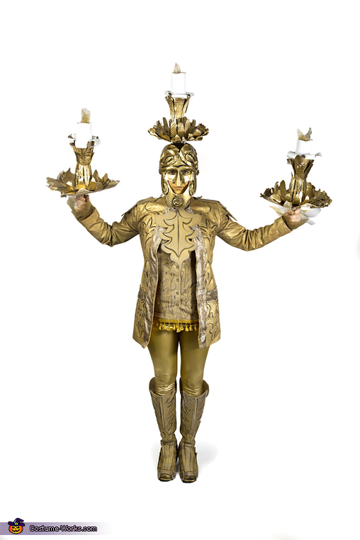 Lumiere from Beauty and the Beast Costume