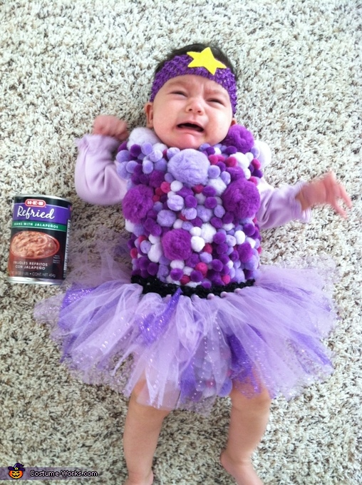 My BEEEANS!! Lumpy Space Princess Baby Costume  sc 1 st  Costume Works & Adventure Time Lumpy Space Princess Baby Costume - Photo 2/2