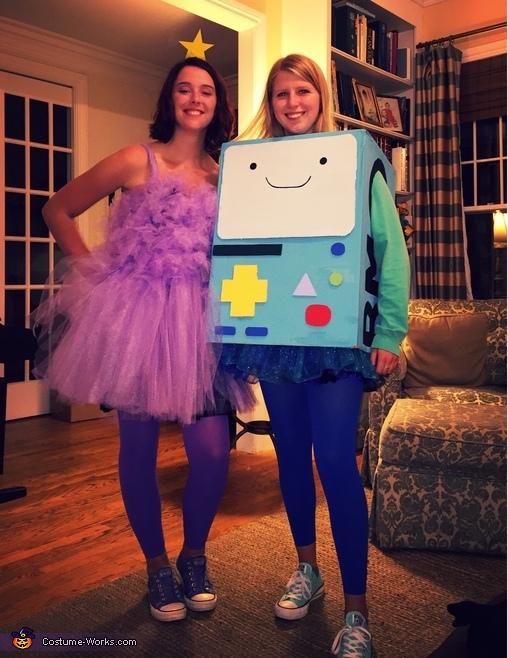 Lumpy Space Princess and BMO Costume