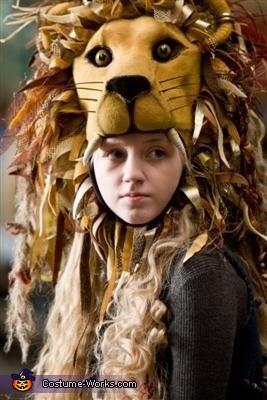 The inspiration!, Luna Lovegood's Lion Hat Costume