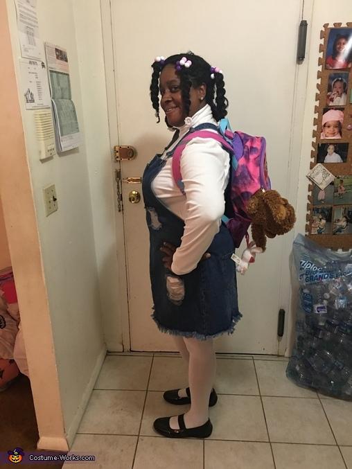 Luna the Kindergartener Homemade Costume