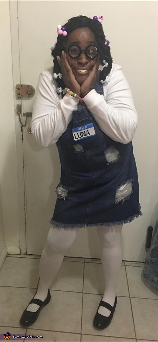 Luna The Kindergartner Costume