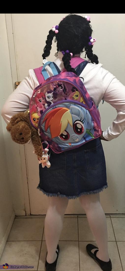 Luna The Kindergartner Homemade Costume