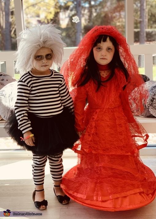 Lydia and Beetlejuice Costume