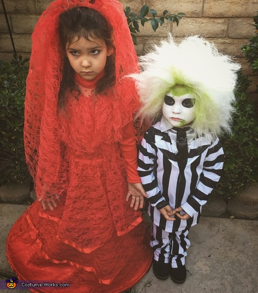 Lydia and Beetlejuice Costume