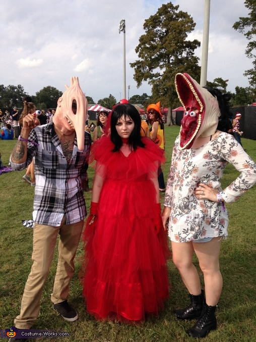 Lydia Deetz and the ghosts, Lydia Deetz Costume