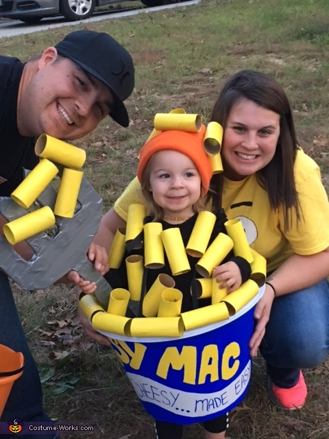 Everyones Favorite Mac n Cheese, Mac and Cheese Costume