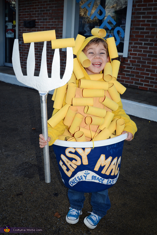 Mac Cheese Costume