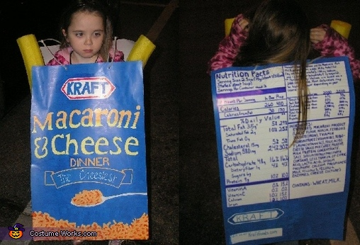 Kraft Macaroni and Cheese, Mac N Cheese Costume