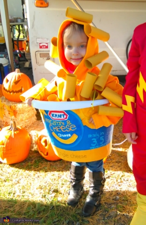 Mac & Cheese Cup Costume