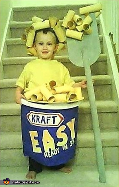 Mac & Cheese - Homemade costumes for boys