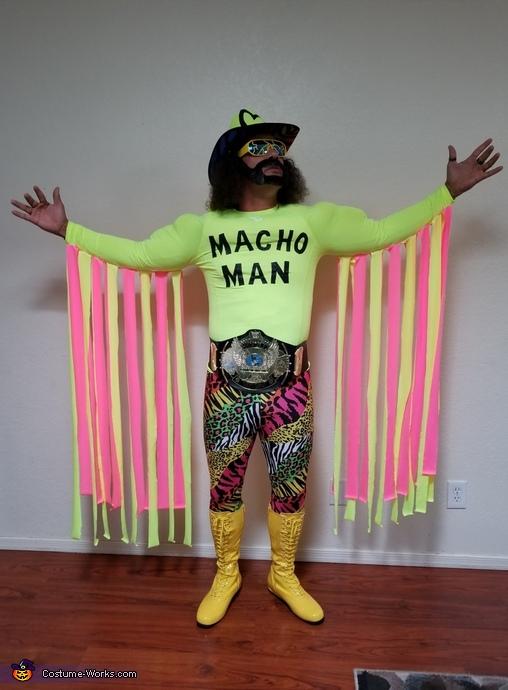 Macho Man Homemade Costume