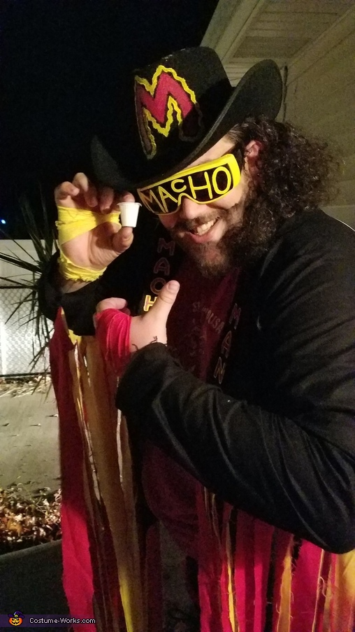 The cream will rise to the top..., Macho Man Randy Savage Costume