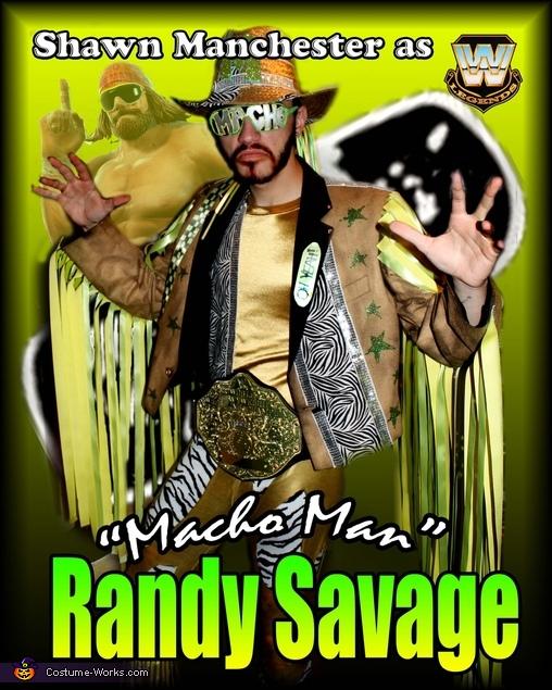 """Macho Man"" Randy Savage, Macho Man Randy Savage Costume"