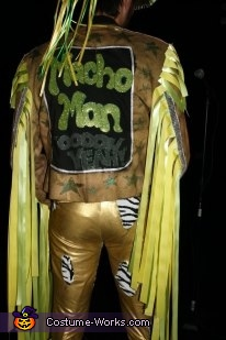 Back, Macho Man Randy Savage Costume